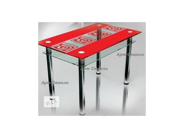 продам Современные столы из стеклы в кухню бу в Дружковке