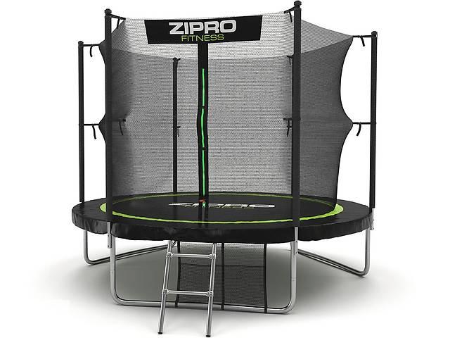 бу Батут Zipro Fitness с внутренней сеткой 252 см + карман для аксессуаров. Нет в наличии в Львове