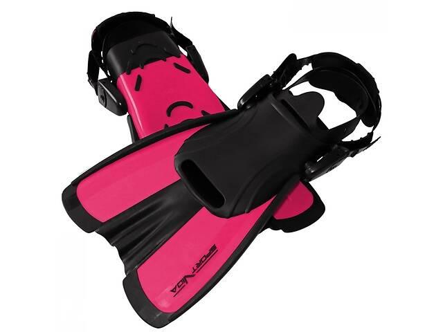 Ласты SportVida SV-DN0008JR-L Size 39-43 Black/Pink- объявление о продаже  в Києві