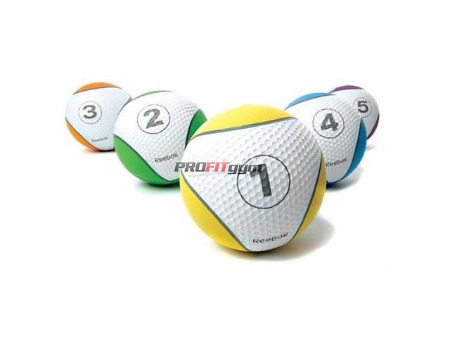 продам Медичний м'яч 2 кг, зелений, Reebok RE-21122 бу в Дніпрі (Дніпропетровськ)