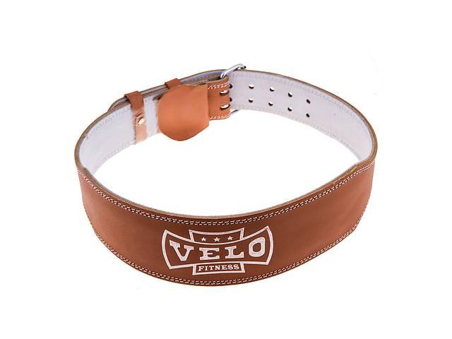 купить бу Пояс штангиста кожа узкий Velo VLS-17026 в Одессе