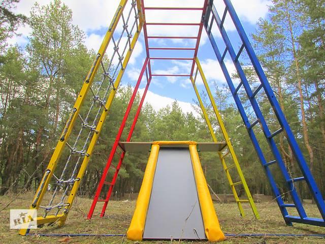 бу Спортивный уголок для маленьких, спортивная горка детская.Спортивний куточок, комплекс, гірка в Киеве