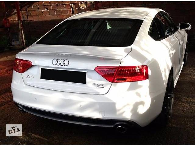 бу Спойлер сабля тюнинг Audi A5 Sportback Ауди А5 в Луцке