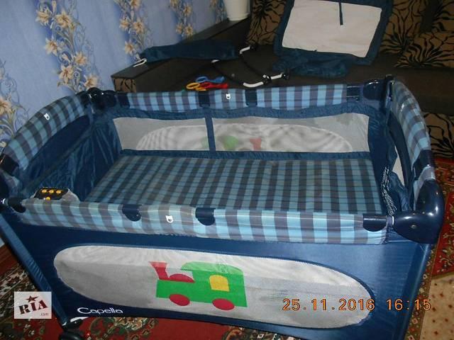 продам Срочно продам кроватку манеж бу в Павлограде