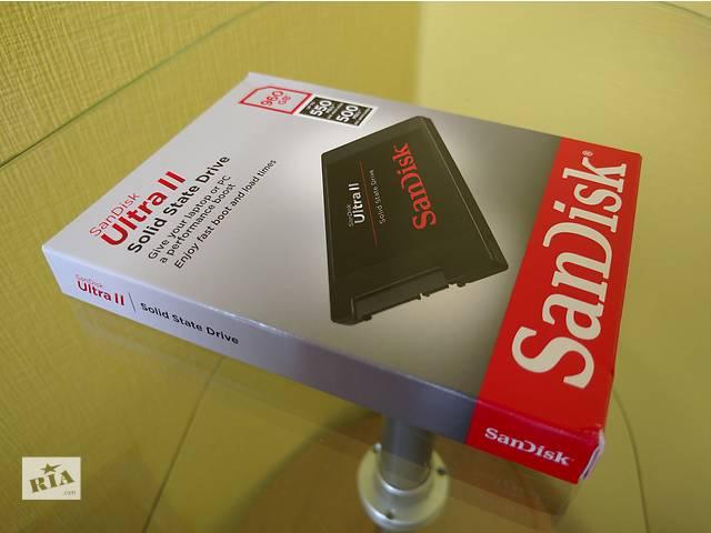 SSD SanDisk Ultra II 960GB (SDSSDHII-960G-G25)- объявление о продаже  в Киеве