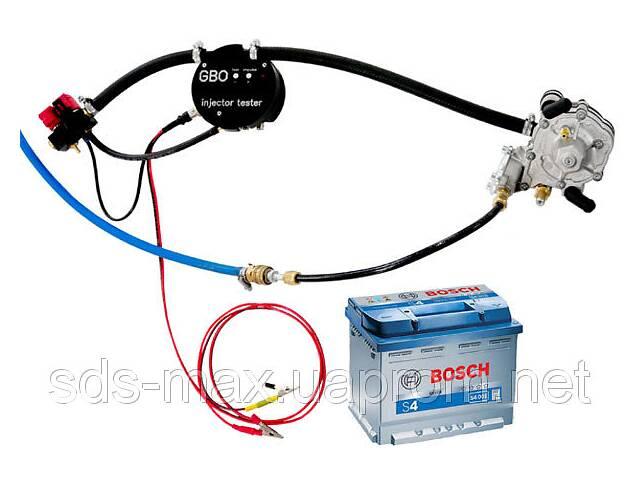 купить бу Стенд диагностики газовых форсунок + осциллограф в Дубно