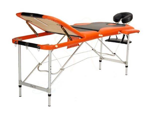 купить бу Стол для массажа Body Fit (3-х сегментный алюминиевый 2 цвета) в Львове