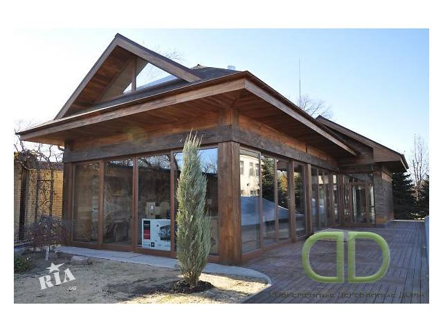 бу Строительство современных деревянных домов под ключ в Києві
