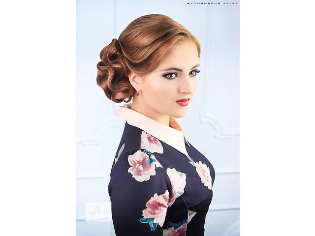 Стрижки мужские и женские. Окрашивание волос. Прически свадебные,вечерние. Плетение кос.- объявление о продаже  в Сумах