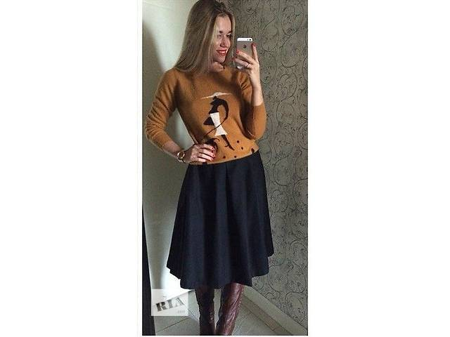 купить бу Стильная юбка миди в Хмельницком
