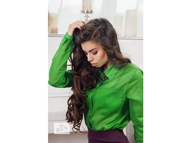 Стильные женственные блузы в розницу и оптом (итальянские ткани)- объявление о продаже  в Киеве