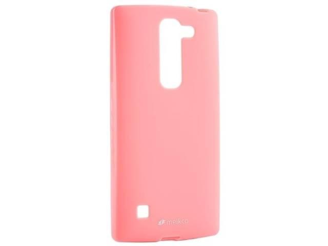 продам Сумка к мобильным телефонам Melkco для LG Spirit Poly Jacket TPU Pink бу в Киеве