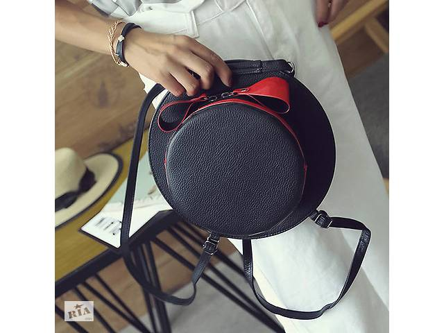 ffec6b481be6 Сумка рюкзак трансформер в форме шляпы с бантиком- объявление о продаже в  Хмельницком