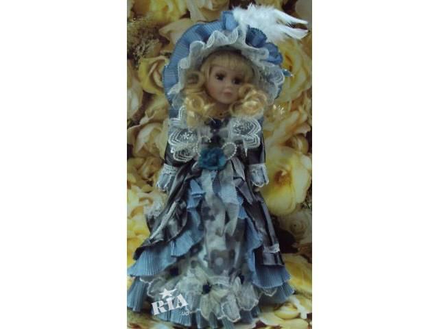 купить бу Кукла фарфоровая декоративная в Киеве