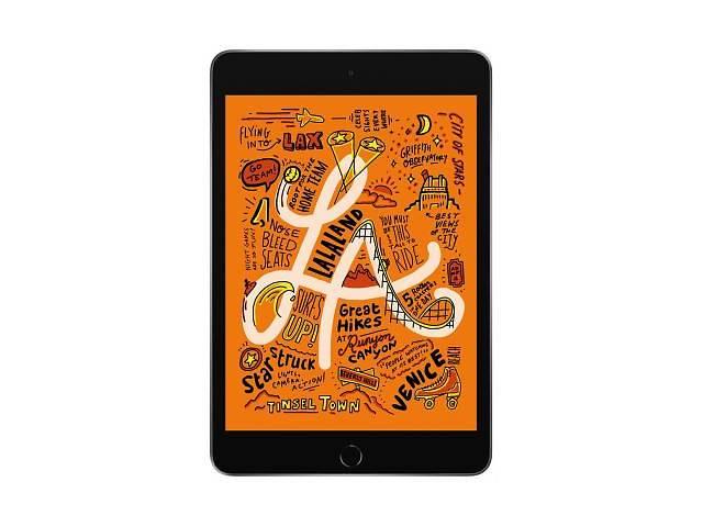 """купить бу Планшет Apple A2124 iPad mini 5 Wi-Fi +4G 64GB Space Grey (MUX52RK/A) Діагональ дисплея - 7.9"""", розд в Киеве"""