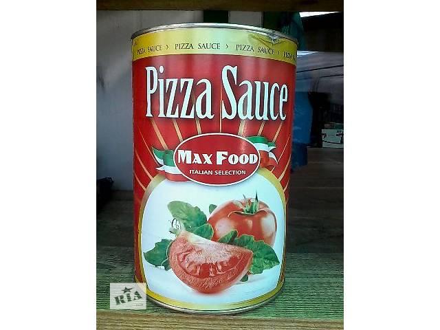 купить бу Томатная паста для пиццы Pizza sauce. Max Food. 4.100kg. Италия. в Львове
