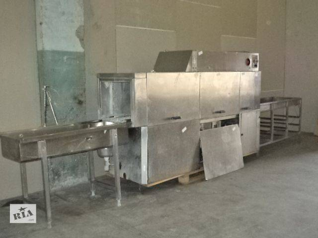 Тоннельная посудомоечная машина, б/у.- объявление о продаже  в Киеве