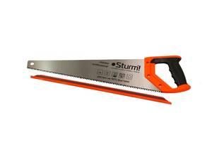 Ножовка по дереву 400 мм крупный зуб, 4 з/д, 2D Sturm 2100301