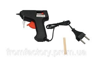 Пистолет клеевой силиконом 7мм 20W (дешевый)