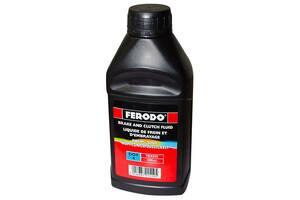 Тормозная жидкость 0.5л dot4 FERODO