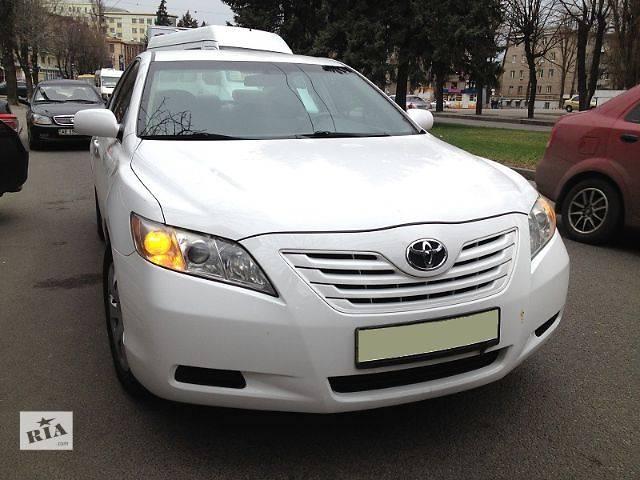 Toyota Camry  белый- объявление о продаже  в Днепре (Днепропетровск)