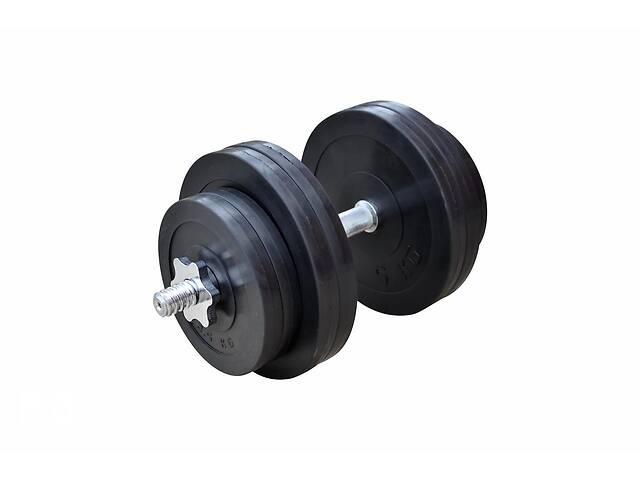 купить бу Обрезиненная гантель 31 кг (RN_OD31) в Одессе