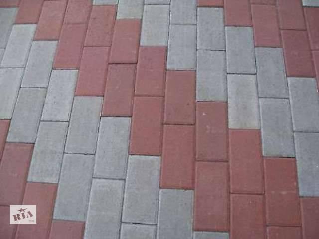 купить бу Тротуарная плитка, укладка и доставка в Броварах