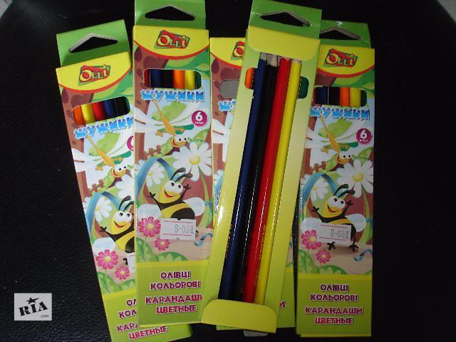 продам Цветные карандаши бу в Киеве