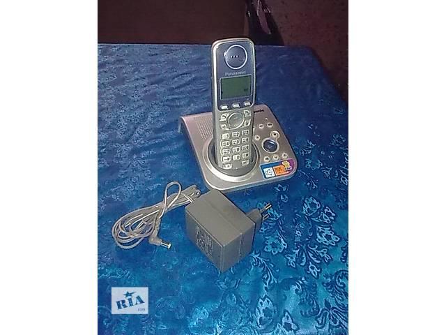 купить бу Цифровой радио телефон Panasonic Kx-TG7227UA в Петропавловке (Днепропетровской обл.)
