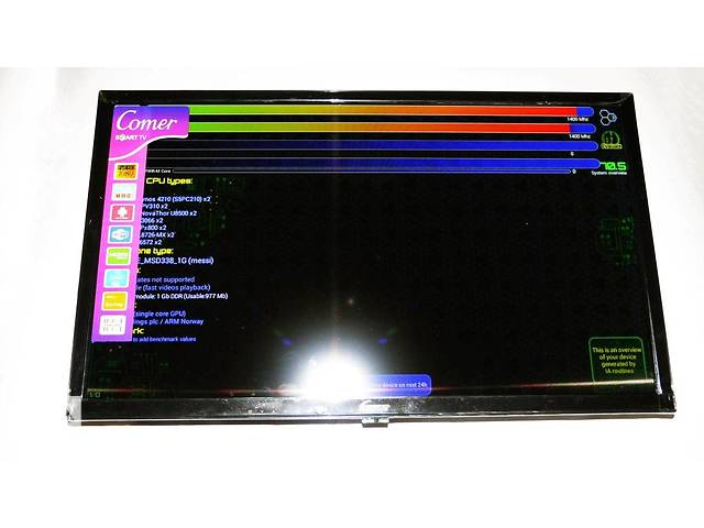 "бу LCD LED Телевизор Comer 24"" Smart TV, WiFi, 1Gb Ram, 4Gb Rom, T2, USB/SD, HDMI, VGA, Android в Хмельницком"
