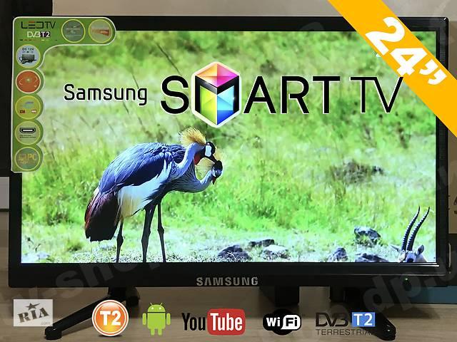 """продам Телевизор Смарт Самсунг 24"""". НАЛИЧИЕ в г. ДНЕПР Т2, Android Samsung бу в Днепре (Днепропетровск)"""