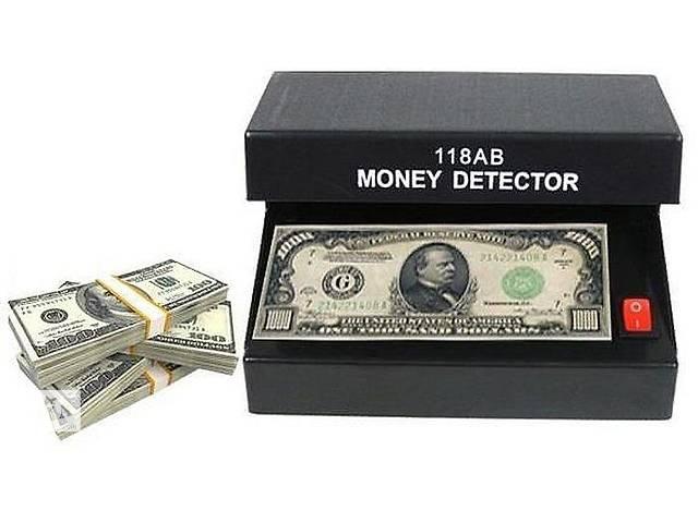 купить бу Ультрафиолетовый детектор валют и банкнот Ad-118ab в Харькове