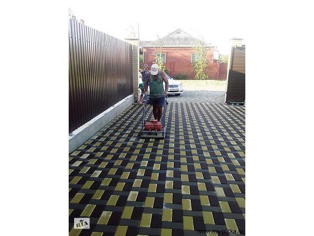 купить бу укладка тротуарной плитки в Винницкой области