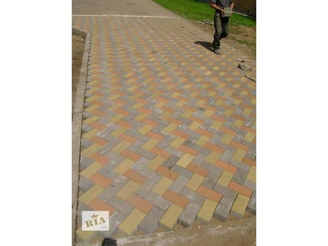 купить бу укладка тротуарной плитки в Лубнах