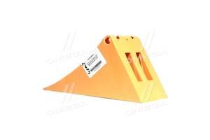 Упор противооткатный пластиковый 470х200х230мм желтый (пр-во NOVLINE)