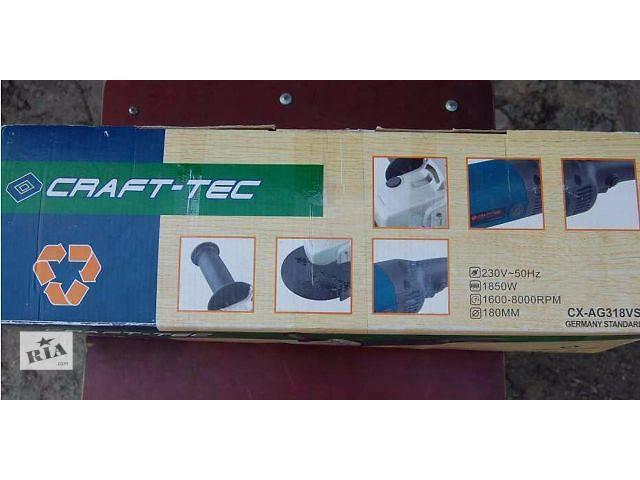 УШМ (болгарка) CRAFT-TEC.- объявление о продаже  в Житомире