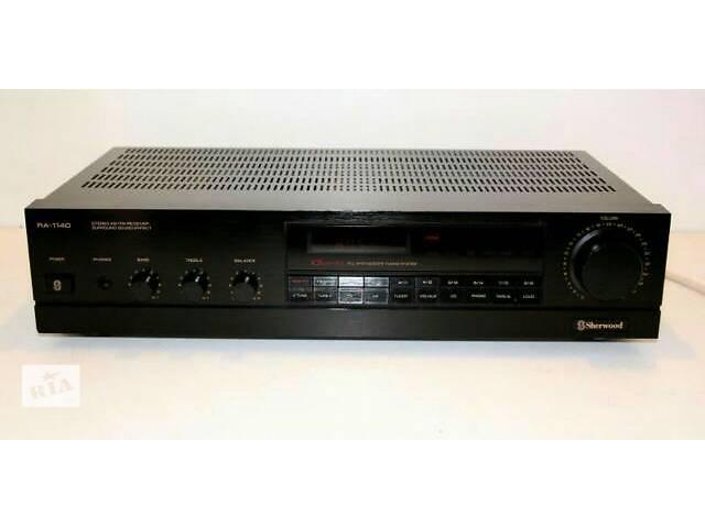 продам усилитель Sherwood 1140 stereo + Digital FM-radio 18 снаnel surraund sound рекомендованный тип колонок Radiotehnika S-90 бу в Херсоне