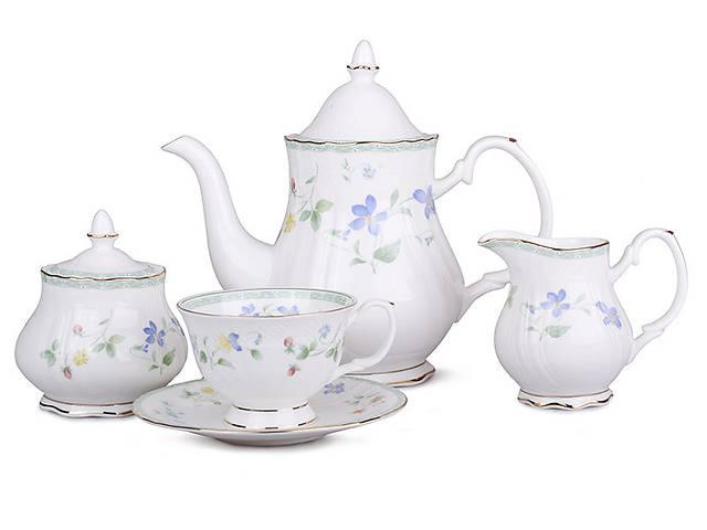 купить бу Чайный набор Lefard Фиалки на 15 предметов 264-303 в Дубно