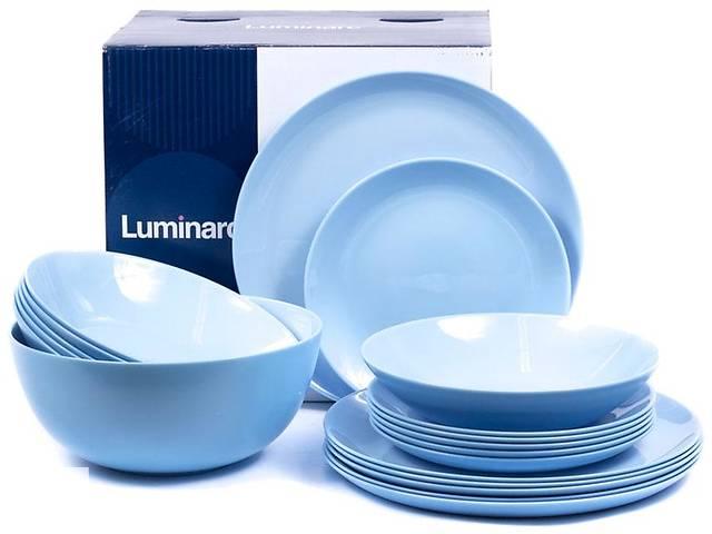 Сервиз столовый Luminarc Diwali Light Blue 19 предметов P2961- объявление о продаже  в Чернигове