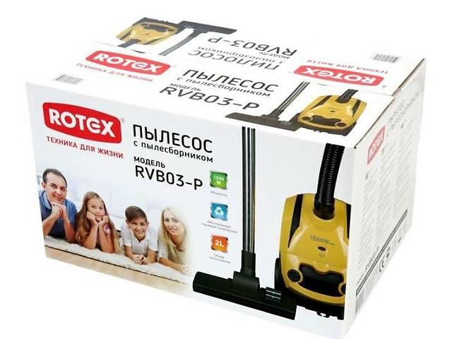 купить бу Пылесос для сухой уборки Rotex RVB03-P в Одесі