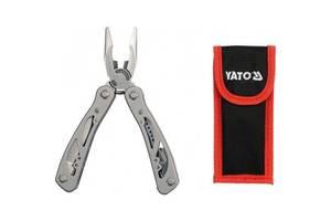 Щипці поліфункційні YATO з 9 складеними інструм-ми, з нержав. сталі