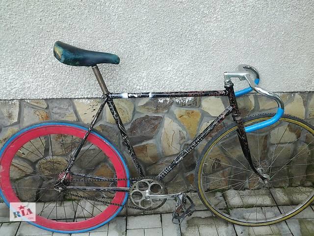 купить бу Велосипед спортивний Bianchi дуже хороший накат шоссе трек хвз фикс fixed gear fixie рекорд.  в Ужгороде