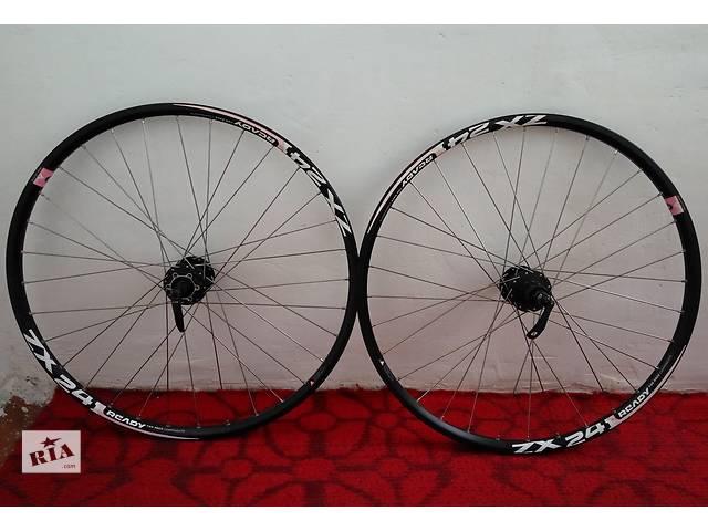Велосипедные колеса 26''-обод Alexrims Ready ZX24, втулки Shimano M475- объявление о продаже  в Сумах