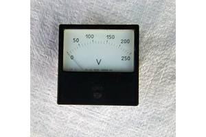 Вольтметр 0-250 В. СССР