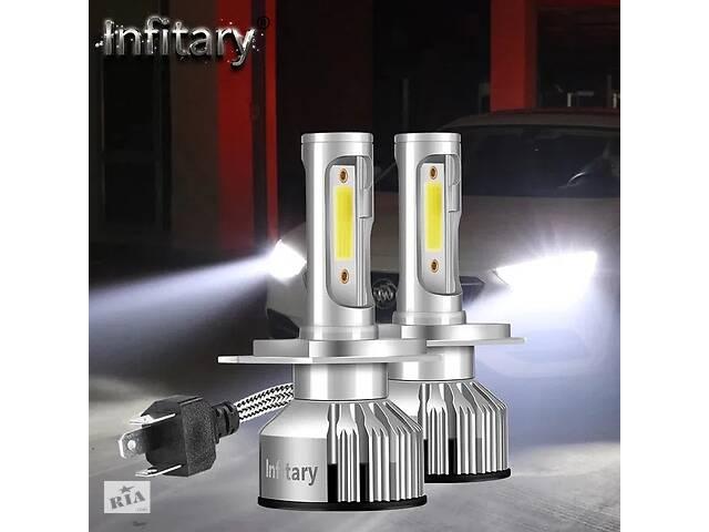 продам Авто LED лампы Н7 Н11 H4 на светодиодах ZES.Без радиопомех бу в Переяславе-Хмельницком