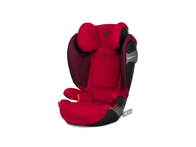 Автокресло Cybex Solution S-fix Racing Red red PU1 (519000223)- объявление о продаже  в Харькове