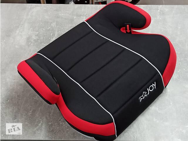 Автокрісло Бустер JOY Група II-III (15-36кг) червоно-чорне- объявление о продаже  в Стрые