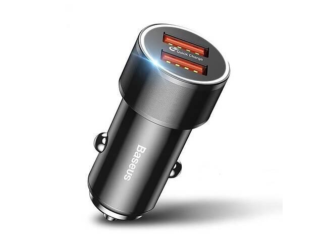 продам Автомобильное зарядное устройство BASEUS Dual USB Quick Charger 3.0 бу в Запоріжжі