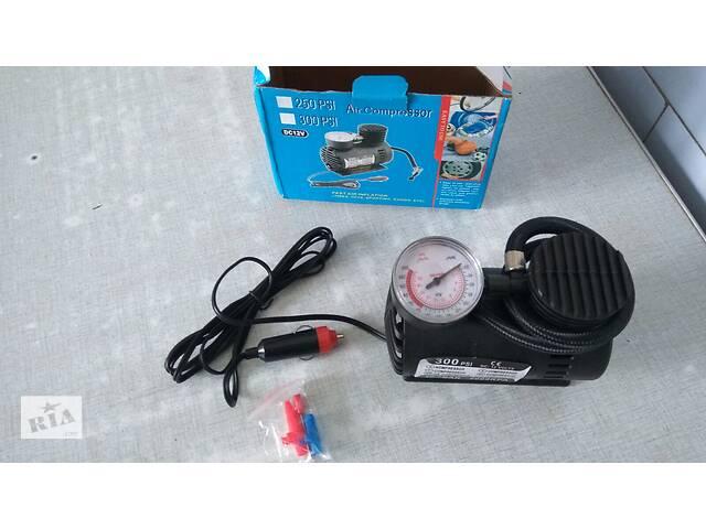 купить бу Автомобильный насос компрессор Air Compressor DC-12V / 300 PSI в Одессе
