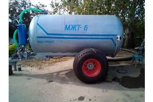 Бочка МЖТ6 для жидкого навоза, удобрений МЖТ6